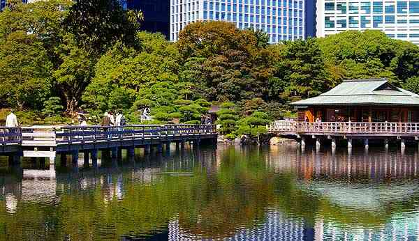 Hama Rikyu Garden-Tokyo Photo Gallery